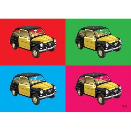 Taxi Barcelona pop