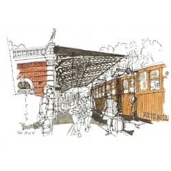 Estación Tren Sóller - Spaint - Feliu Renom