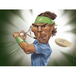 Rafael Nadal - Spaint