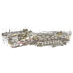 Skyline de Palma con nombres - Spaint