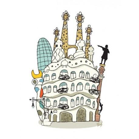 Barcelona - Spaint - Jaume Tenes
