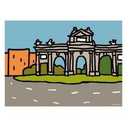 Puerta Alcalá - Spaint -Óscar Casla